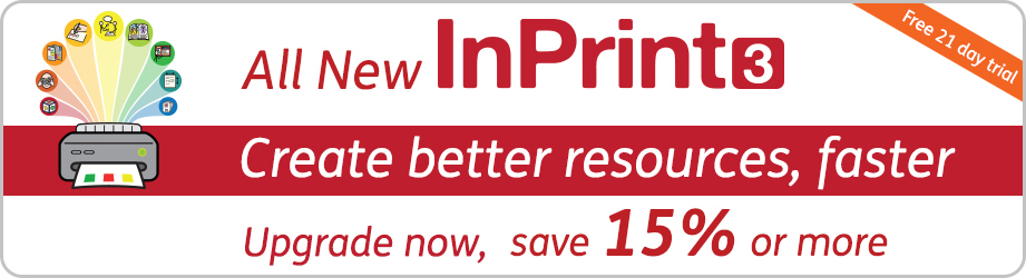 InPrint 3 - upgrade from 15%